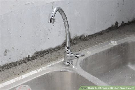 how to choose a kitchen faucet how to choose a kitchen sink faucet 5 steps with pictures