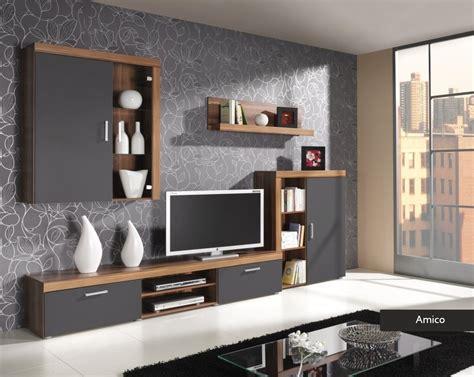 Composizione soggiorno Amico mobile parete porta tv in 4