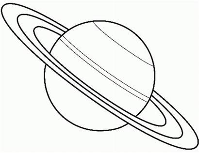 Solar Coloring System Space Pages Printable Colouring