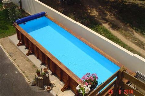 couloir de nage en bois vercors piscine