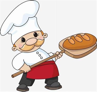 Baker Bread Illustration Baking Occupation Vector Bakery