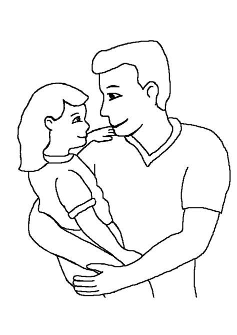 amoure de cuisine coloriage fête des pères gros câ avec sa fille