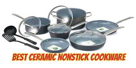 ceramic nonstick cookware sets  easy  healthy cooking ceramic nonstick cookware
