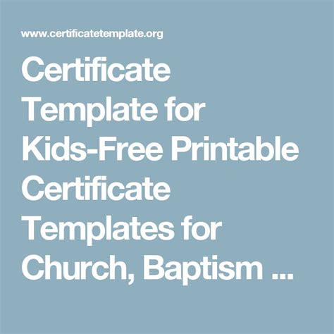 17 Church Certificate Templates Free Printable Sle Designs 17 Best Ideas About Certificate Templates On