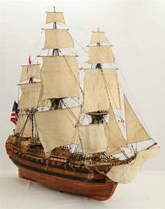 Views Of Ship Model Bonhomme Richard  Whole Ship