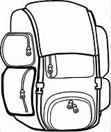 Backpack Coloring Bag Clipart Camping Pages Destiny Printable Sheet Getcolorings Clipartmag Surprise Wecoloringpage sketch template
