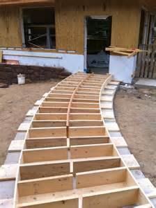 Build a Curved Wood Walkway