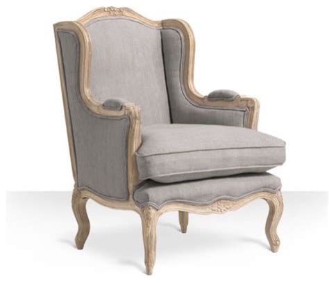 armchair style armelle chair in putty grey