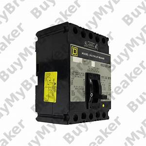 Square D Faf32020 3 Pole 20 Amp 240v Circuit Breaker
