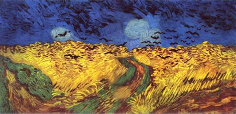vincent gogh artwork vincent gogh crows wheat field 50