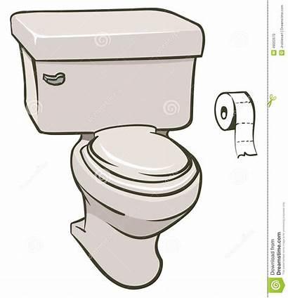 Toilet Illustration Vector Illustrations Roll Cartoons