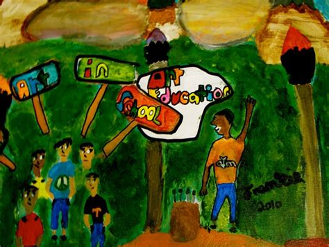 Step Up And Speak Out For Art Education Artwork