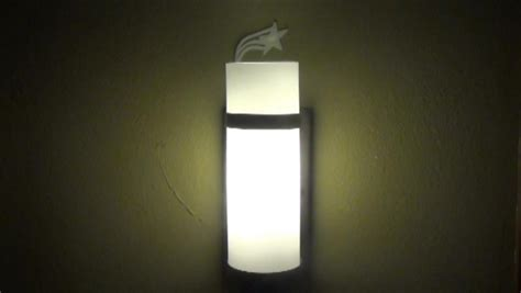 how to install a wall sconce see drill