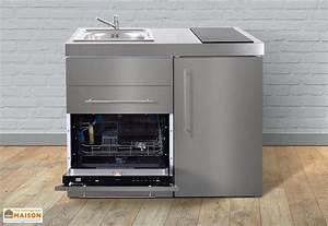 meuble frigo et lave vaisselle With meuble pour lave vaisselle integrable