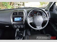2013 Mitsubishi ASX 2WD review PerformanceDrive