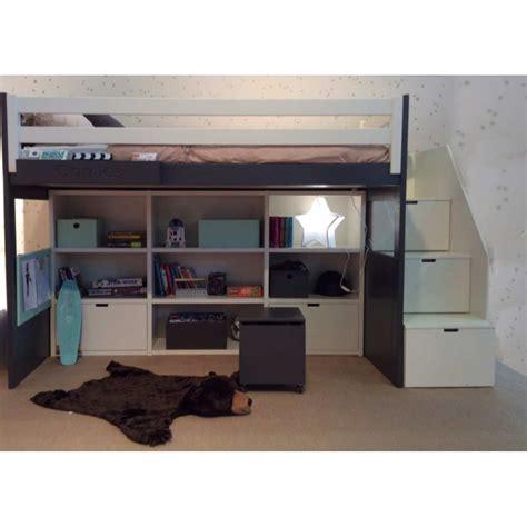 mezzanine ado bureau lit mezzanine avec banquette phenomenal lit