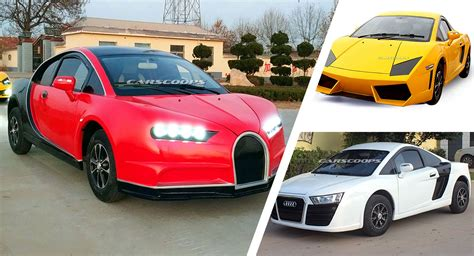 Get great deals on ebay! These Bugatti Chiron, Lamborghini And Audi R8 Chinese Clones Will Cost You As Little As $5,000 ...