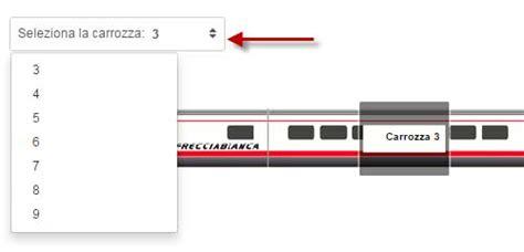 carrozza italo come scegliere posto sul treno italo e trenitalia