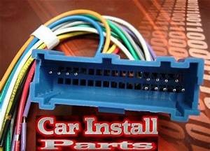 Oldsmobile Radio Wire Harness Install Stereo Plug 94