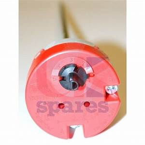 Heatrae Sadia 95612633 Rod Thermostat  U0026 Cut Out Red Round Cap