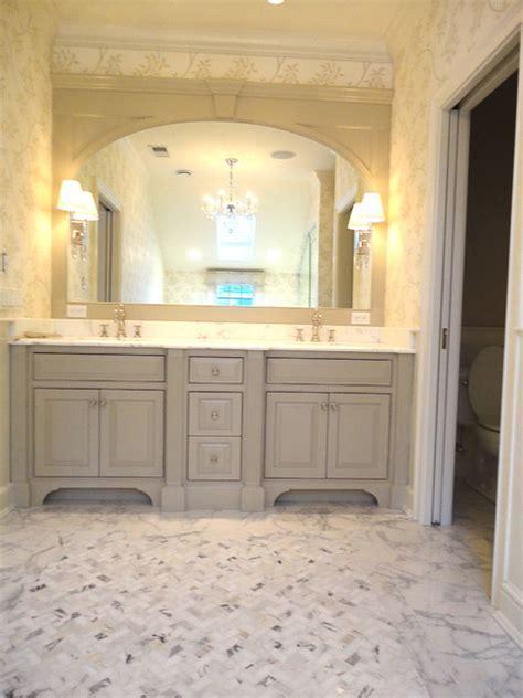 Calacatta master bath   Traditional   Bathroom   New York