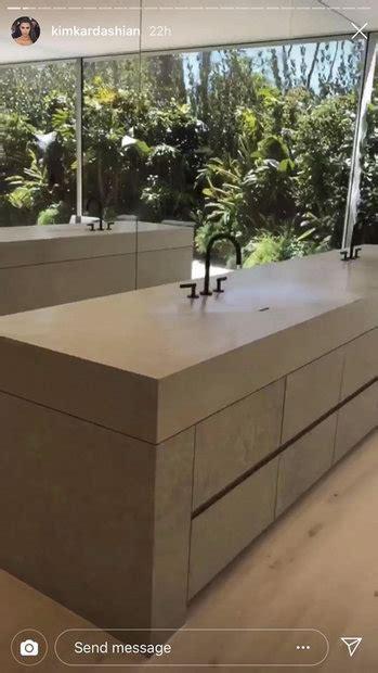 kim kardashian   bathroom sink works style living
