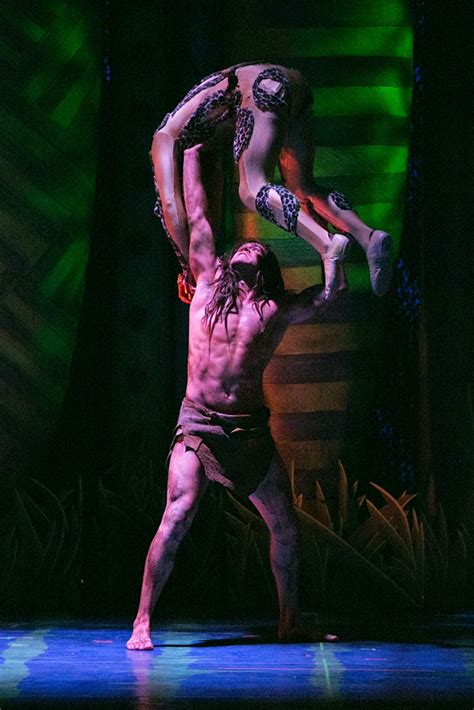 Bww Reviews 3d Theatricals' Tarzan The Musical Is A