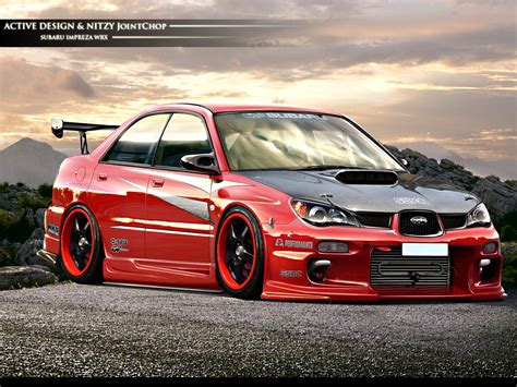 Beautiful Car Subaru Impreza Wrx Sti Wallpapers And Images