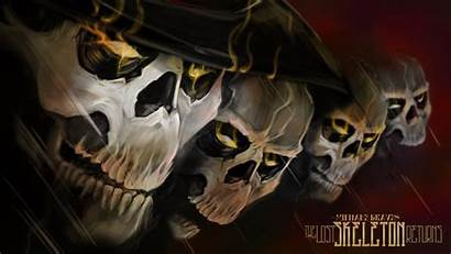 Skeleton Graves Lost Monster Michale Wallpapers Returns