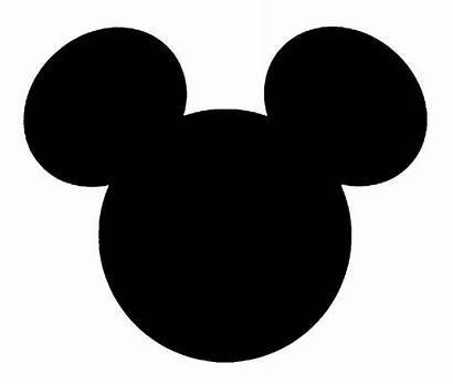 Mickey Mouse Head Clipart Cliparts Face Disney