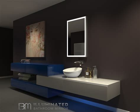 Dimmable Lighted Bathroom Mirror Galaxy 24 X 36