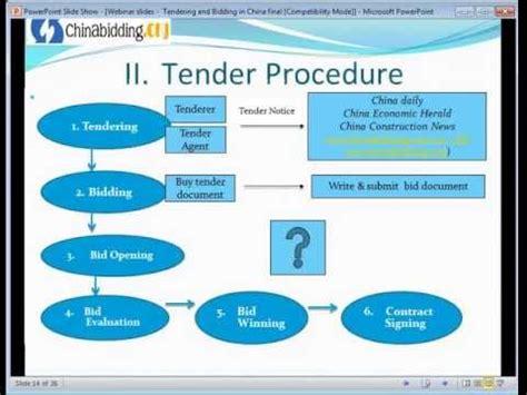 webinar  tendering  bidding process  china youtube