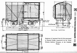 Moor Street Station  Diagram Of An Insulated Van For The