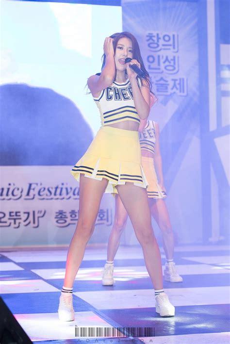 times aoa hyejeong flaunts  sexy legs daily  pop news latest  pop news