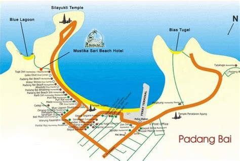 kd bali designs bali map karangasem district padang bai