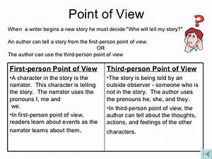 Point of view essay