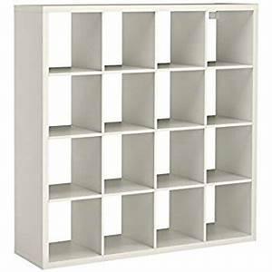 Ikea Kallax 4x4 : ikea expedit kallax shelving unit bookcase storage home furniture white 4x4 large square unit ~ Frokenaadalensverden.com Haus und Dekorationen