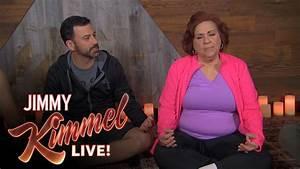 Jimmy Kimmel, Cousin Sal, Guillermo, Yehya & Aunt Chippy ...