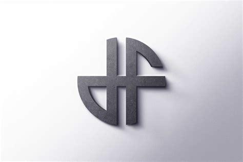 monogram logo graphicsfamily