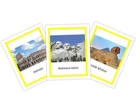 Pasaules apskates objekti - Safari Toobs kartītes ...