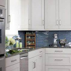 white and blue kitchen features white cabinets adorned With kitchen colors with white cabinets with atlanta falcons stickers