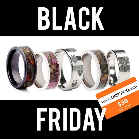 ad black friday camo wedding ring camo silicone rings