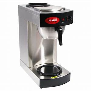 Avantco C10 12 Cup Pourover Commercial Coffee Maker With 2