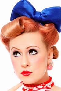Coiffure Année 50 Pin Up : red lips and glamour secrets of the 39 50s makeup look howstuffworks ~ Melissatoandfro.com Idées de Décoration