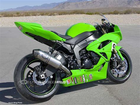 2009 Kawasaki Ninja Zx-6r Project Bike Photos