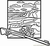 Canyon Coloring Coloringpages101 Usa sketch template