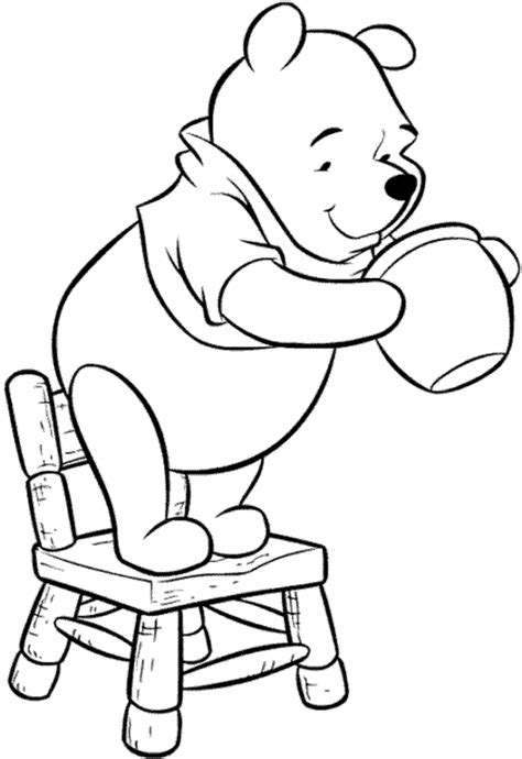 coloring pages winnie  pooh  friends  printable