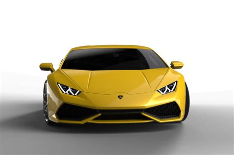 2015 Lamborghini Huracan Yellow Front End 02 Photo 1
