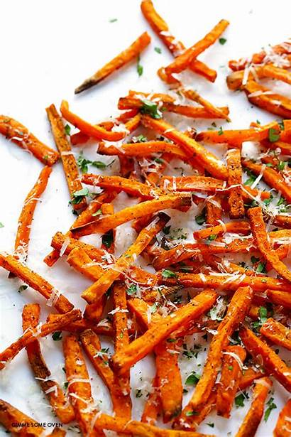 Potato Fries Sweet Baked Recipe Parmesan Recipes