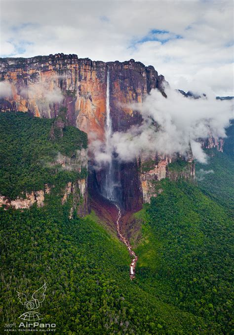 Angel Waterfall Of Venezuela The Worlds Highest Waterfall